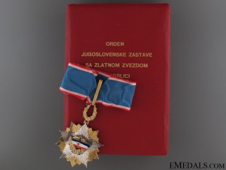 Order of the Yugoslav Flag - Commander