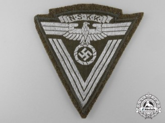An  N.S.K.K. Sleeve Rank Chevron; RZM Tagged