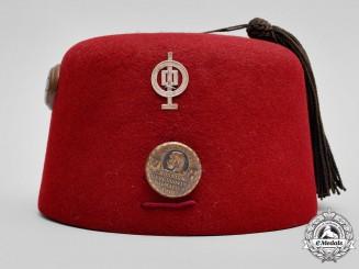"""Austria, Imperial. A First War Bosnian Service """"Fez"""" Cap"""