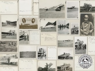 """A Group of Junkers """"Bremen"""" and """"Europa"""" Postcards and Photographs"""