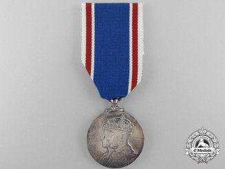 A 1937 George VI and Queen Elizabeth Coronation Medal