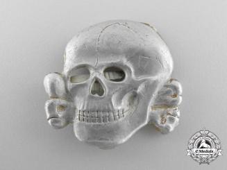 An SS Cap Skull in Aluminum