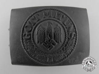 An Kriegsmarine Enlisted Man Belt Buckle