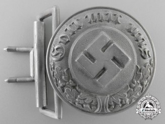 A German Police Officer's Belt Buckle by F.W. Assmann & Söhne