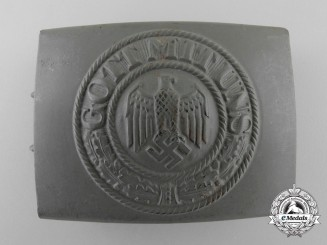 A German Army (Heer) Enlisted Man's Belt Buckle by Hermann Koller
