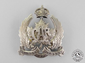 Canada. An Early 1920's Canadian Air Force (CAF) Field Service Cap Badge