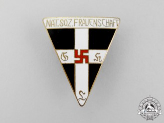Germany. A Large National Socialist Women's League Membership Badge