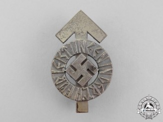 Germany. An HJ Silver Grade Proficinecy Badge