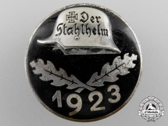 A 1923 Stahlhelm Badge
