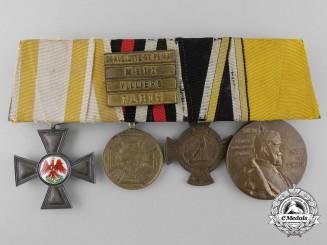 An 1870-71 Franco Prussian War Medal Bar