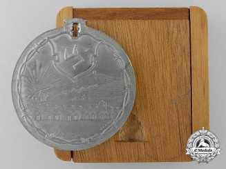 A First War Knockaloe, Isle of Man German Prisoner of War Camp Medal