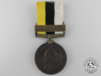 A Royal Niger Company's Medal; Numbered 309