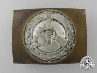 An NSBO Belt Buckle by Linden & Funke, Iserlohn; Published Example