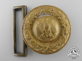 A German Third Reich Penal Administrative Official's Belt Buckle