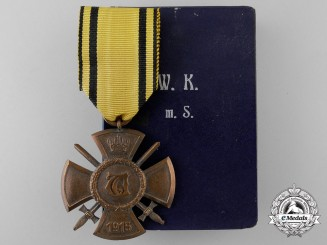 A Wurttemberg  War Merit Cross with Swords 1915-18
