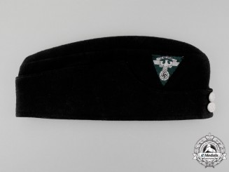 An NSKK Motor Corps Saxony Enlisted Man's Side Cap