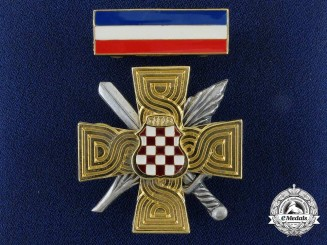 A Croatia, Bosnia, a Herceg-Bosna War Merit Cross 1992-95