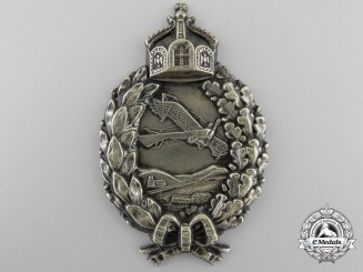 A First War Prussian Pilot's Badge; Sew-On Version; Published Example