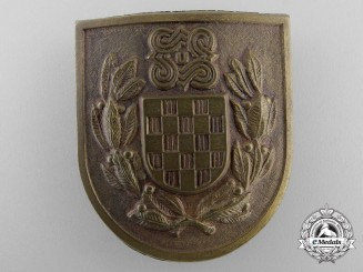 A Rare 1942 Croatian NDH Independence Badge