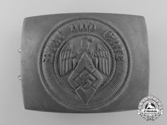 An HJ Belt Buckle by Friedrich Linden, Lüdenscheid