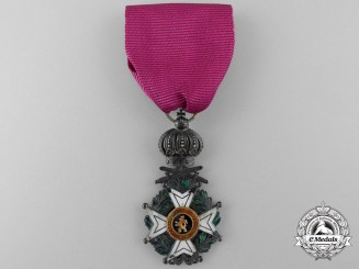 A Belgian order of Leopold; Reduced Size Knight