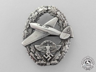 Germany, NSFK. A Motor Pilot Badge; Type II