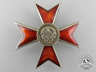A First War Period Mecklenburg Order of the Griffin; Officer's Cross