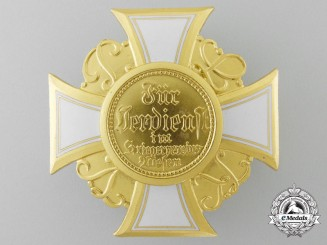 A War Veteran's Honor Cross 1st class