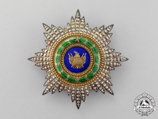 Albania, Kingdom. An Order of Skanderbeg, Grand Officer's Star, c.1935