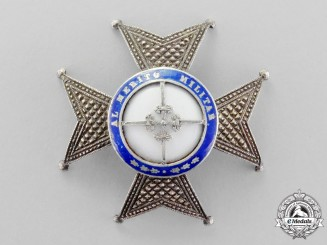 Spain. A Military Order of San Fernardo, Second Class Breast Star