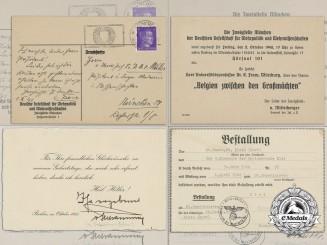 Three Second War German Documents