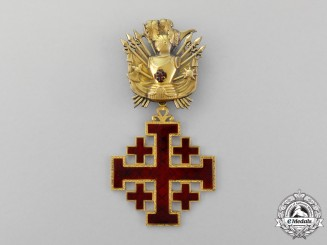 Vatican. An Order of the Holy Sepulchre of Jerusalem, Commander for Gentlemen, Military Division, Type III (1907-1967)