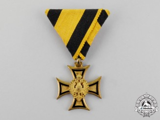 Austria. A Military Long Service Decoration, 2nd Class, Officer for Forty Years' Service