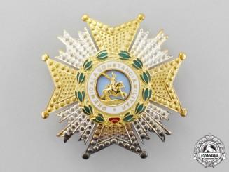 Spain. A Royal and Military Order of Saint Hermenegildo, Commander's Breast Star