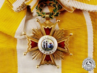 Spain. An Order of Isabella the Catholic, Grand Cross, Type I (1875-1931)