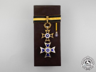 Portugal. An Order of Merit, Commander Set with Case
