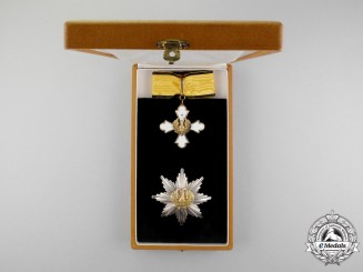 Greece. An Order of the Phoenix, Grand Commander Set, Type II (1935-1973)