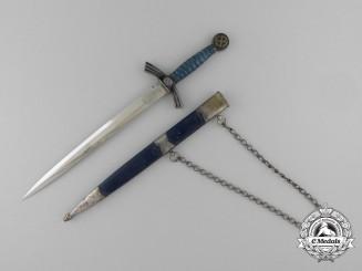 A Miniature First Pattern Luftwaffe Dagger by E. & F. Horster