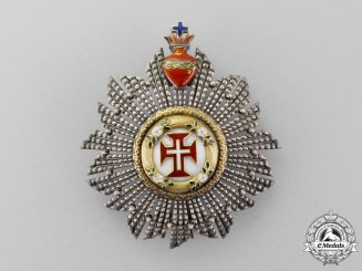 Portugal. A Military Order of Christ, Breast Star, c.1910