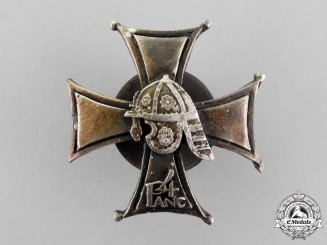 Poland. A Theatre Made Second War 4th Armored Battalion Badge