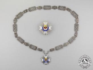 Spain. An Order of St. Raymond of Peñafort, Collar Set, c.