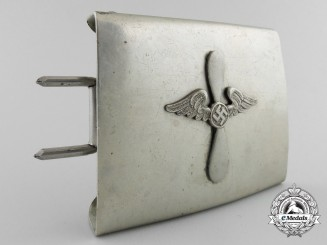 An Unattributed Buckle; Likely Flying Units of SA/SS