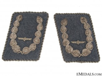 Pair of Collar Tabs-Air Force Major (Bojnik)