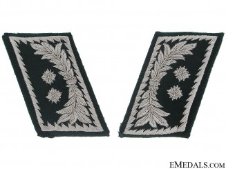 Pair of Collar Tabs - Customs Officer