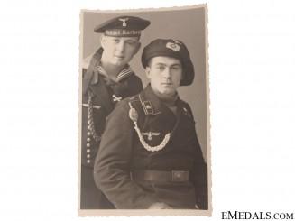 Panzer & Kriegsmarine Photograph