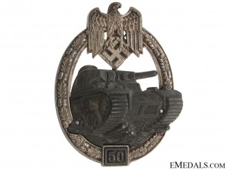 Panzer Badge-Grade III (50) – Juncker