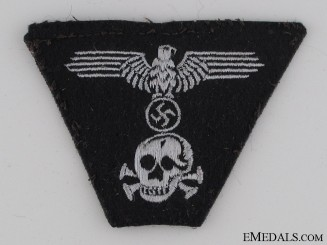 Panzer EM/NCO's M43 Trapezoid Style Cap Insignia
