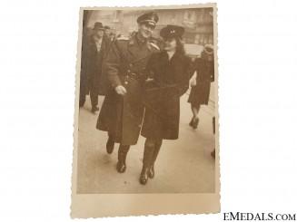 Photo of WWII Croatian Airman
