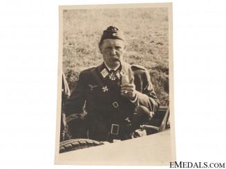 Photograph of a Luftwaffe Knight's Cross Winner