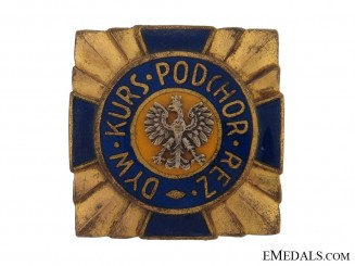 Enameled Badge